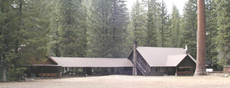 Union Rogue Baptist Youth and Family Camp in Oregon. Chapel, Breezeway and dining hall